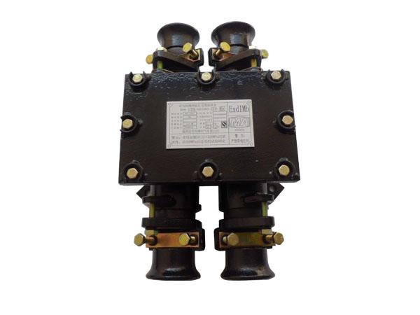 2 主要用途及适用范围 bhd6系列 矿用隔爆型低压电缆 接线盒,适用于